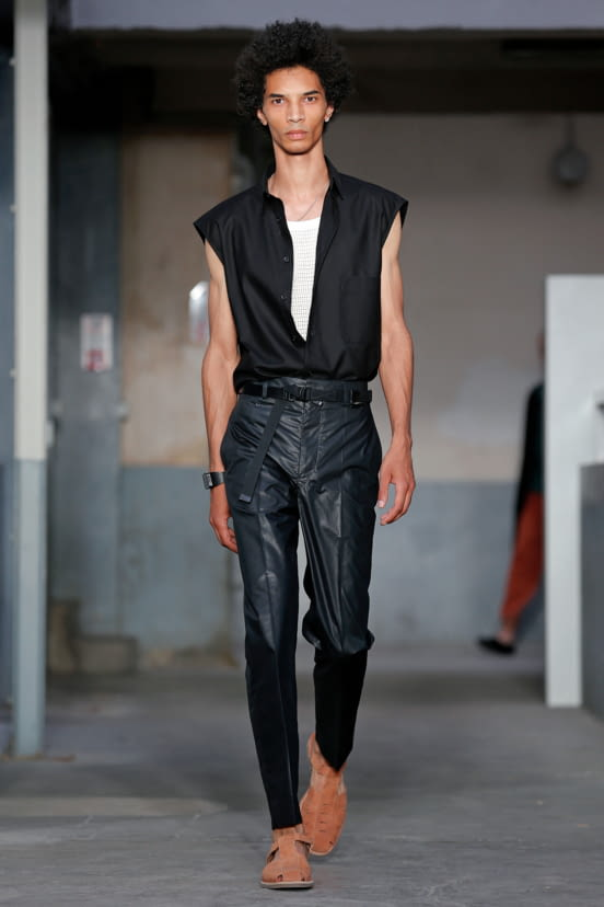 Lemaire look 17 - S/S 18