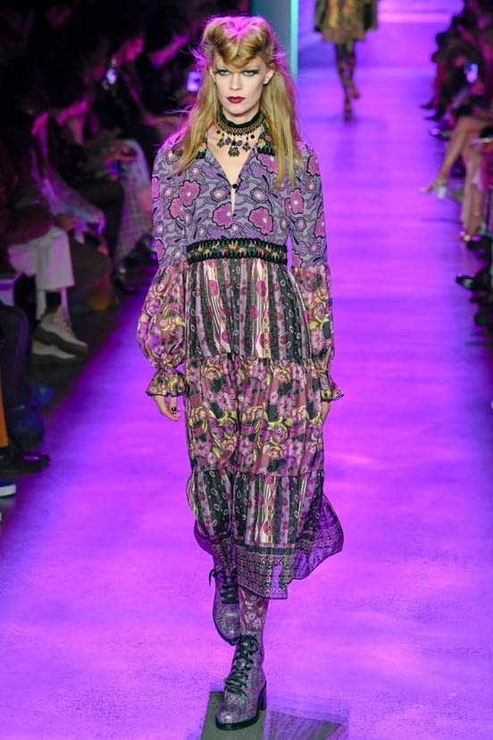 Anna Sui look 23 - FW20