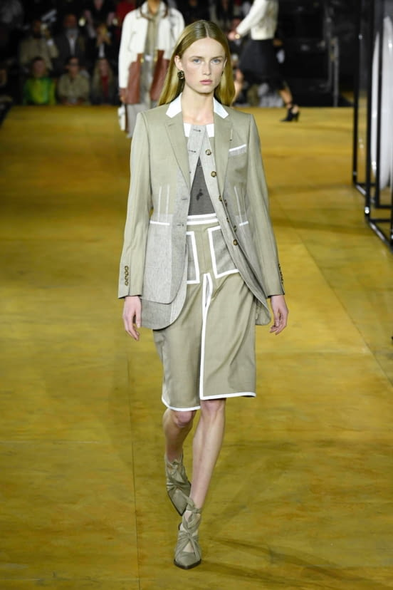 Burberry look 1 - SS20