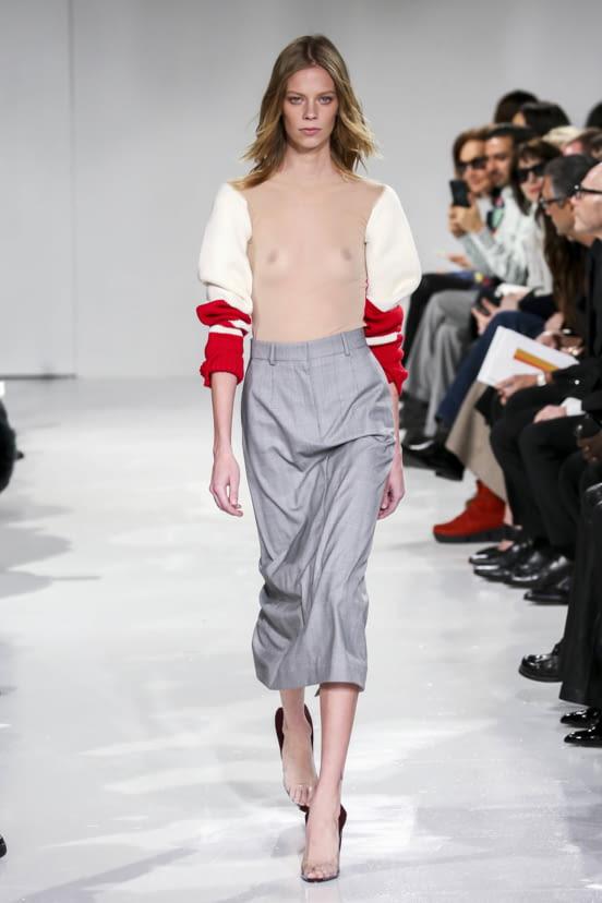 Calvin Klein 205W39NYC look 12 - F/W 17