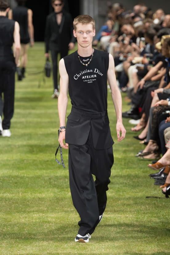 Dior Homme look 12 - S/S 18