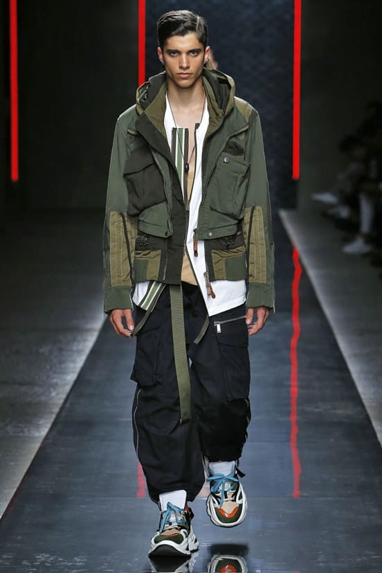 Dsquared2 look 14 - S/S19