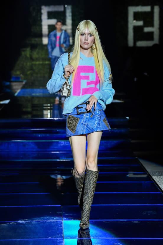 Versace by Fendi - Fendi by Versace look 34 - SS22