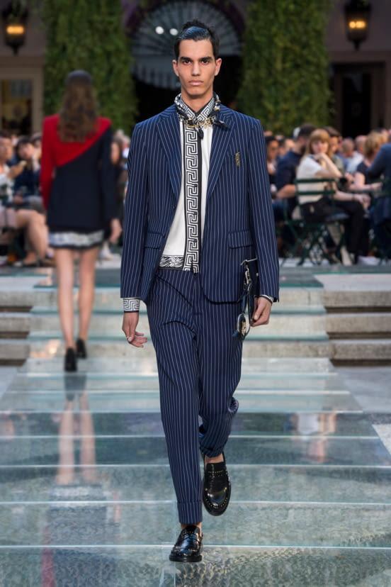 Versace look 10 - S/S 18