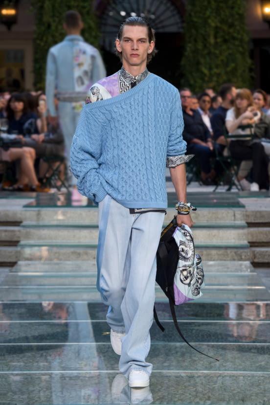 Versace look 27 - S/S 18