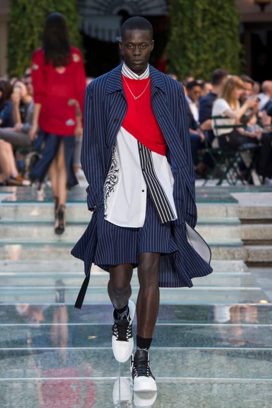 Versace look 8 - S/S 18