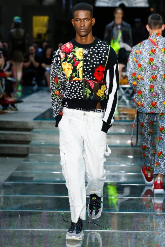 Versace look 24 - S/S19