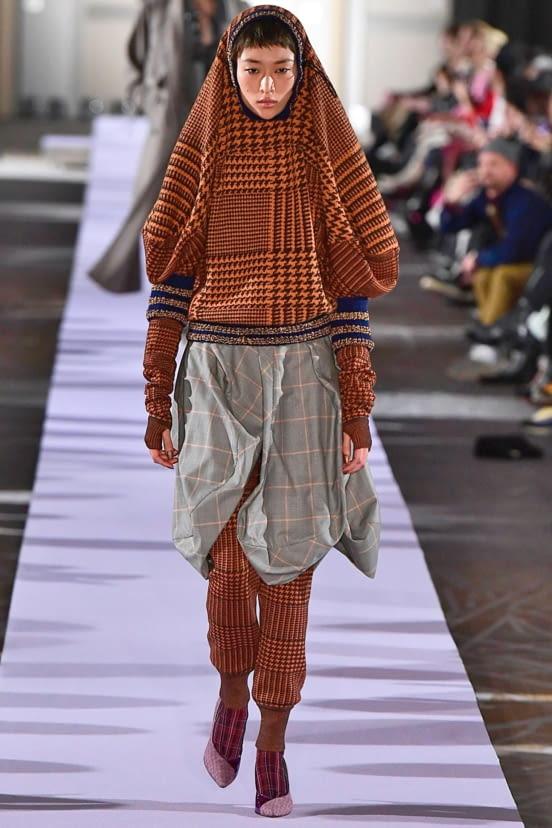 Andreas Kronthaler for Vivienne Westwood look 12 - FW19