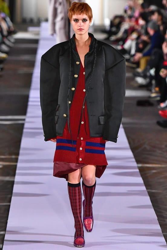 Andreas Kronthaler for Vivienne Westwood look 27 - FW19