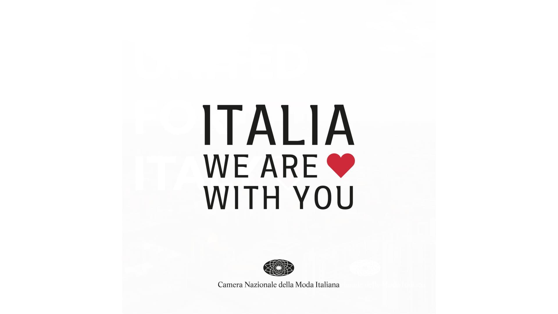 CNMI - Italia we are with you