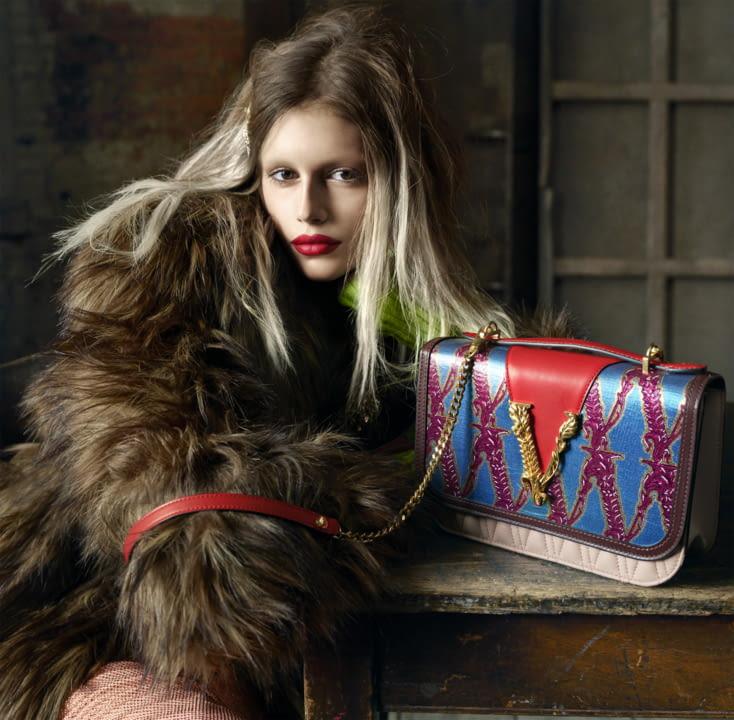 VERSACE // VIRTUS BAG - The new Versace handbag line illustration