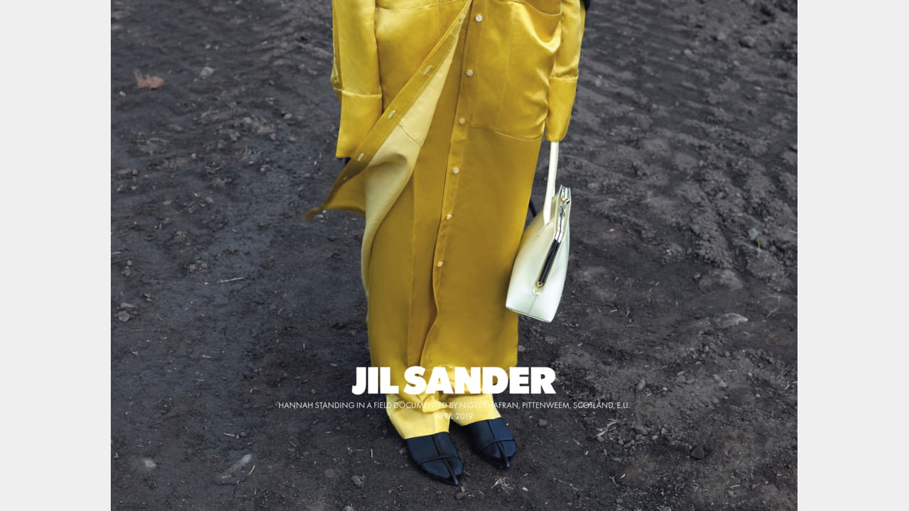 JIL SANDER FALL/WINTER 2019 ADVERTISING CAMPAIGN illustration 1