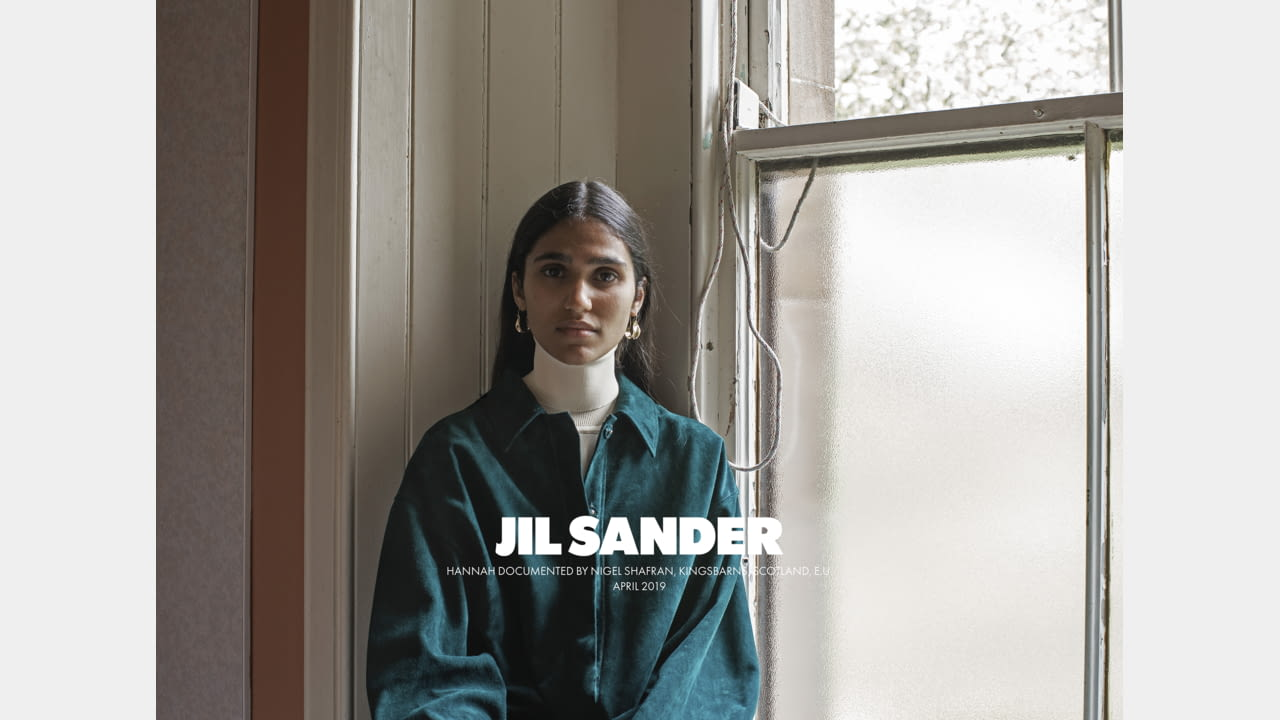 JIL SANDER FALL/WINTER 2019 ADVERTISING CAMPAIGN illustration 7