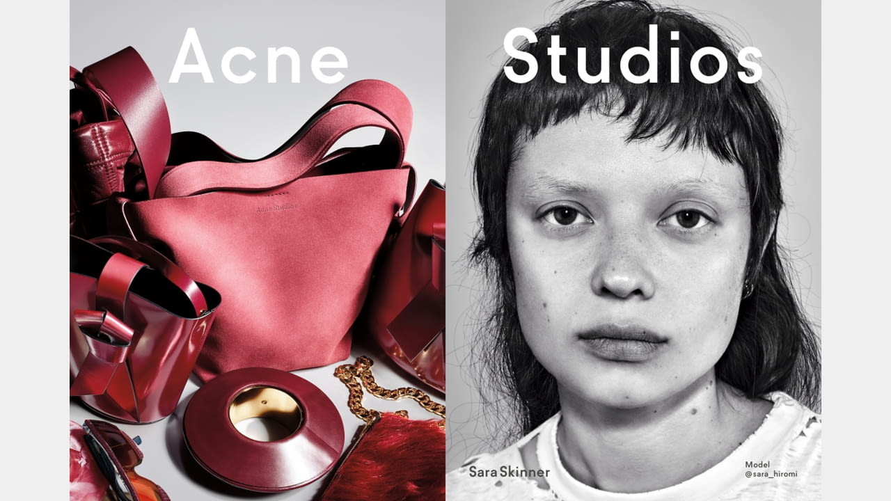 Acne Studios presents Fall/Winter 2019 campaign with new generation faces illustration 2