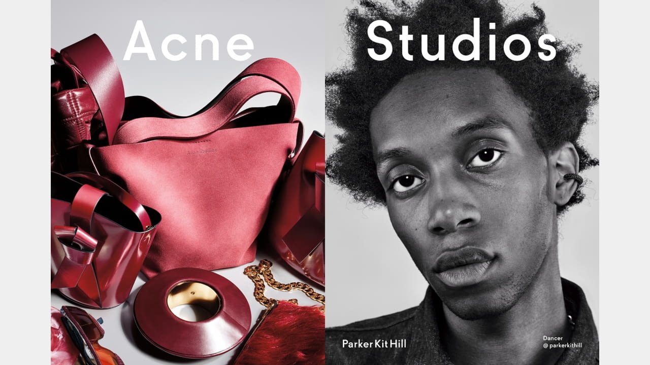 Acne Studios presents Fall/Winter 2019 campaign with new generation faces illustration 3