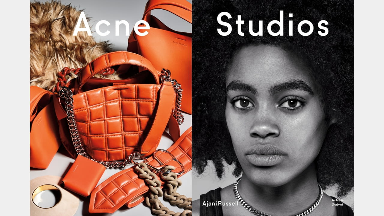 Acne Studios presents Fall/Winter 2019 campaign with new generation faces illustration 5