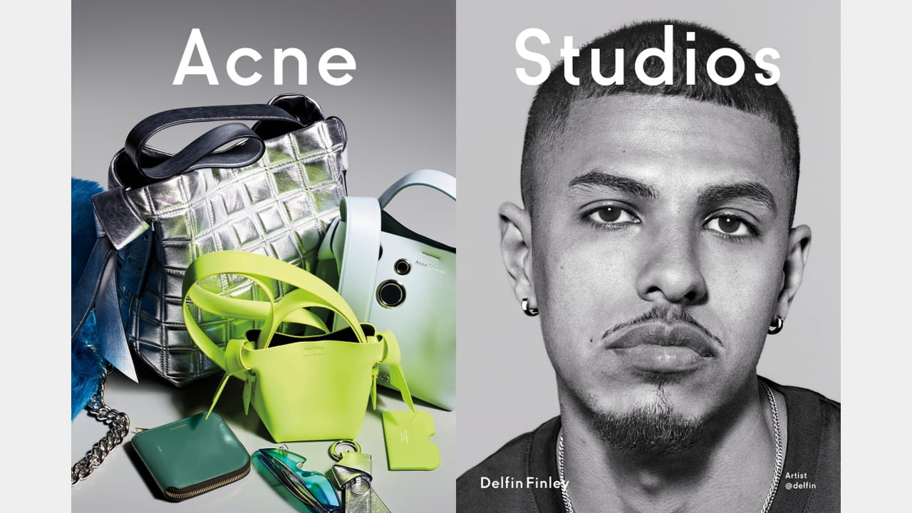 Acne Studios presents Fall/Winter 2019 campaign with new generation faces illustration 6