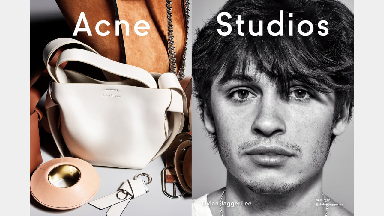Acne Studios presents Fall/Winter 2019 campaign with new generation faces illustration 7