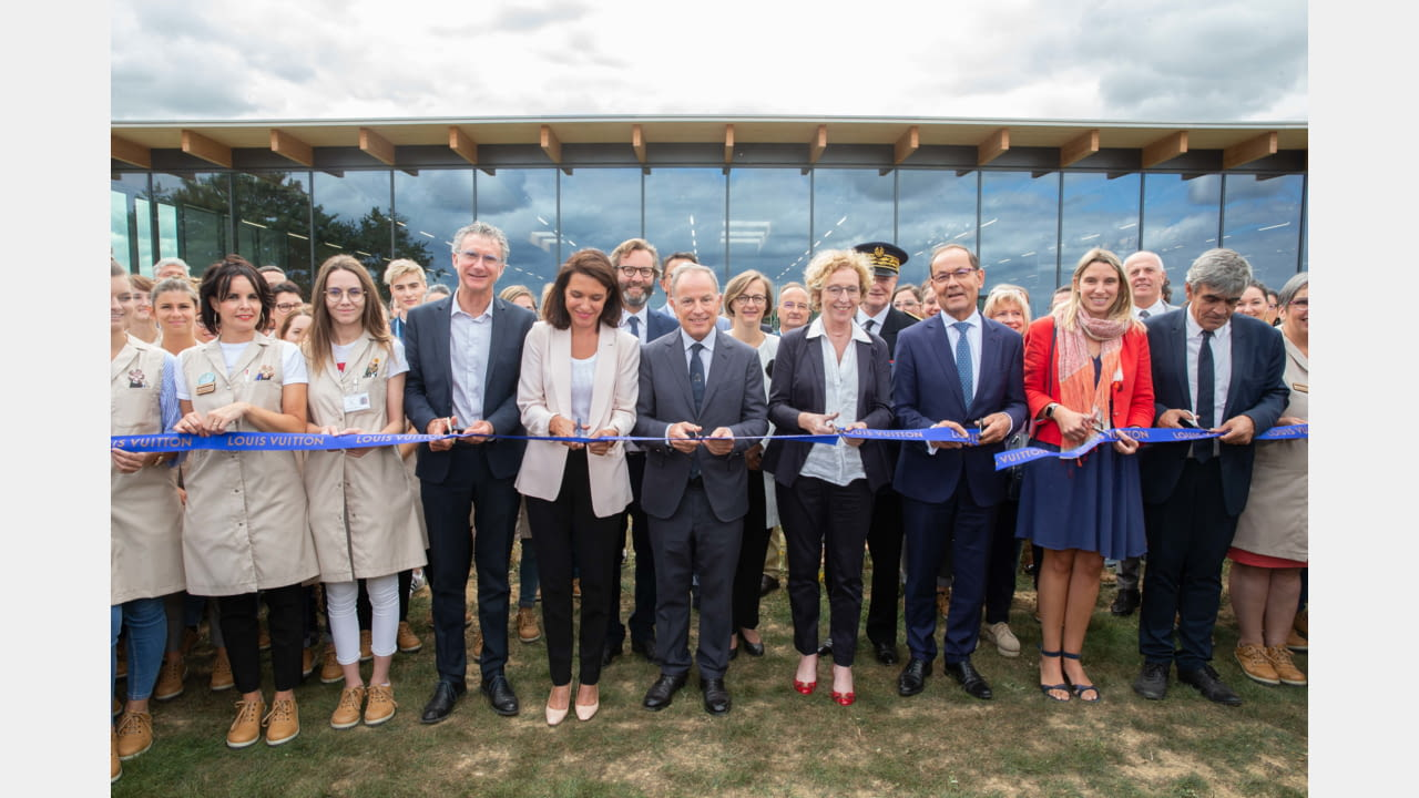 Louis Vuitton reinforces its production capacity in France with the inauguration of its 16th atelier, in Beaulieu-sur-Layon (Maine-et-Loire region) illustration 4