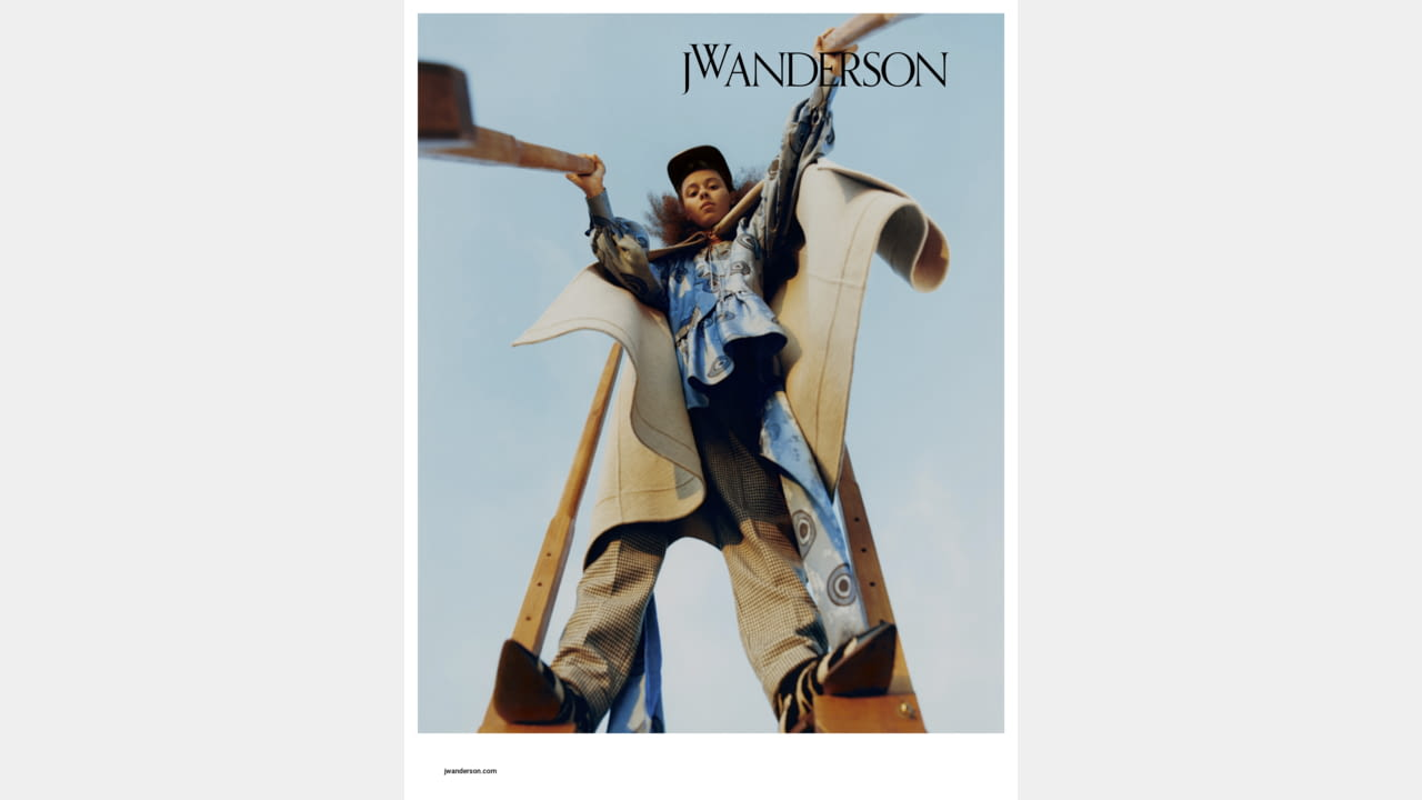 JW ANDERSON RELEASES AUTUMN WINTER 2019 CAMPAIGN illustration 3