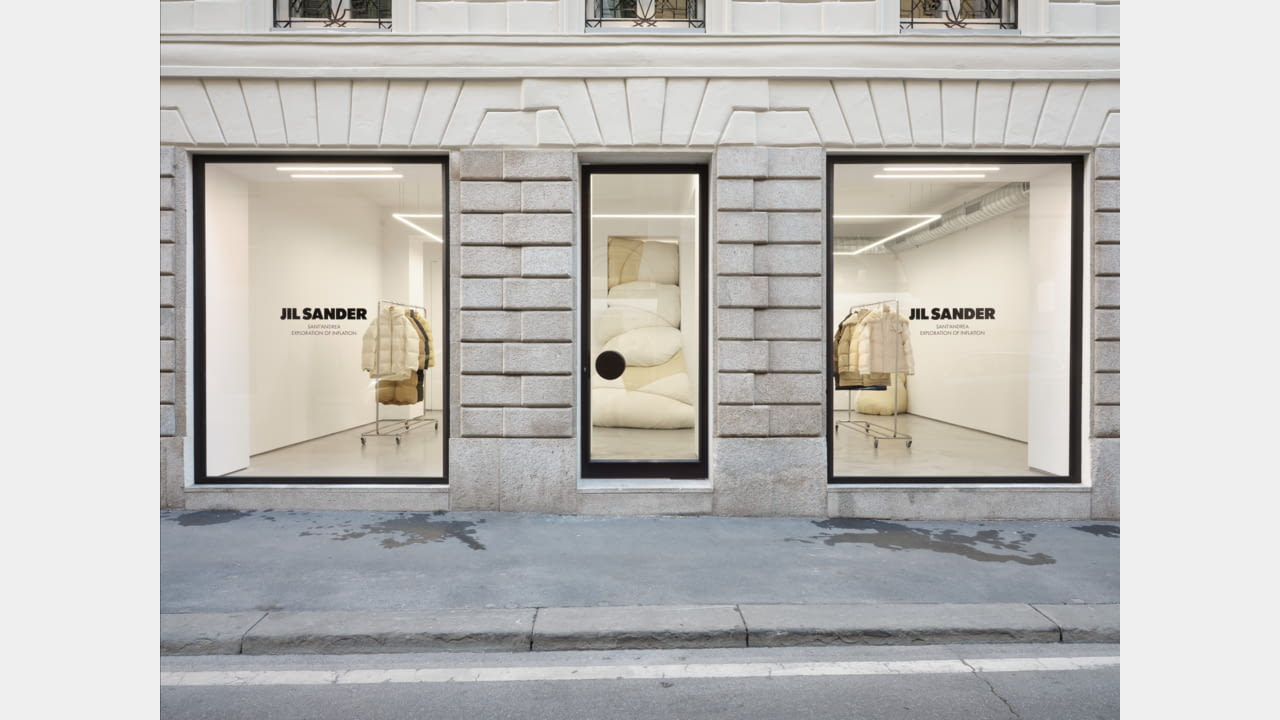 JIL SANDER LAUNCHES MILAN'S VIA SANT'ANDREA LOCATION AS AN INSTALLATION SPACE illustration 1