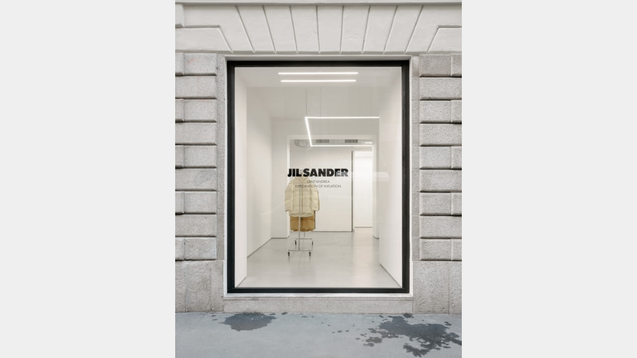 JIL SANDER LAUNCHES MILAN'S VIA SANT'ANDREA LOCATION AS AN INSTALLATION SPACE illustration 2