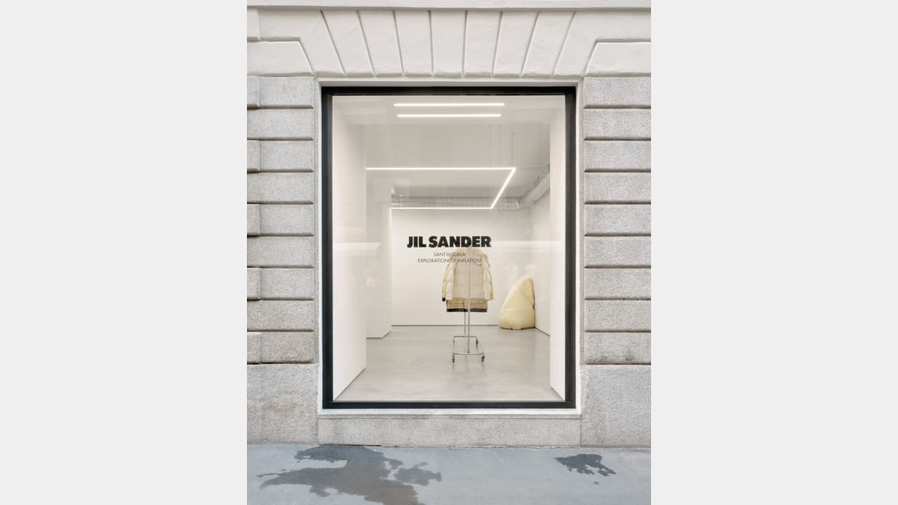 JIL SANDER LAUNCHES MILAN'S VIA SANT'ANDREA LOCATION AS AN INSTALLATION SPACE illustration 4