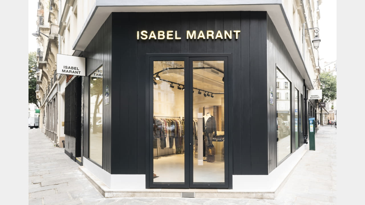 ISABEL MARANT OPENS HER FIRST MENS STORE IN PARIS illustration 1
