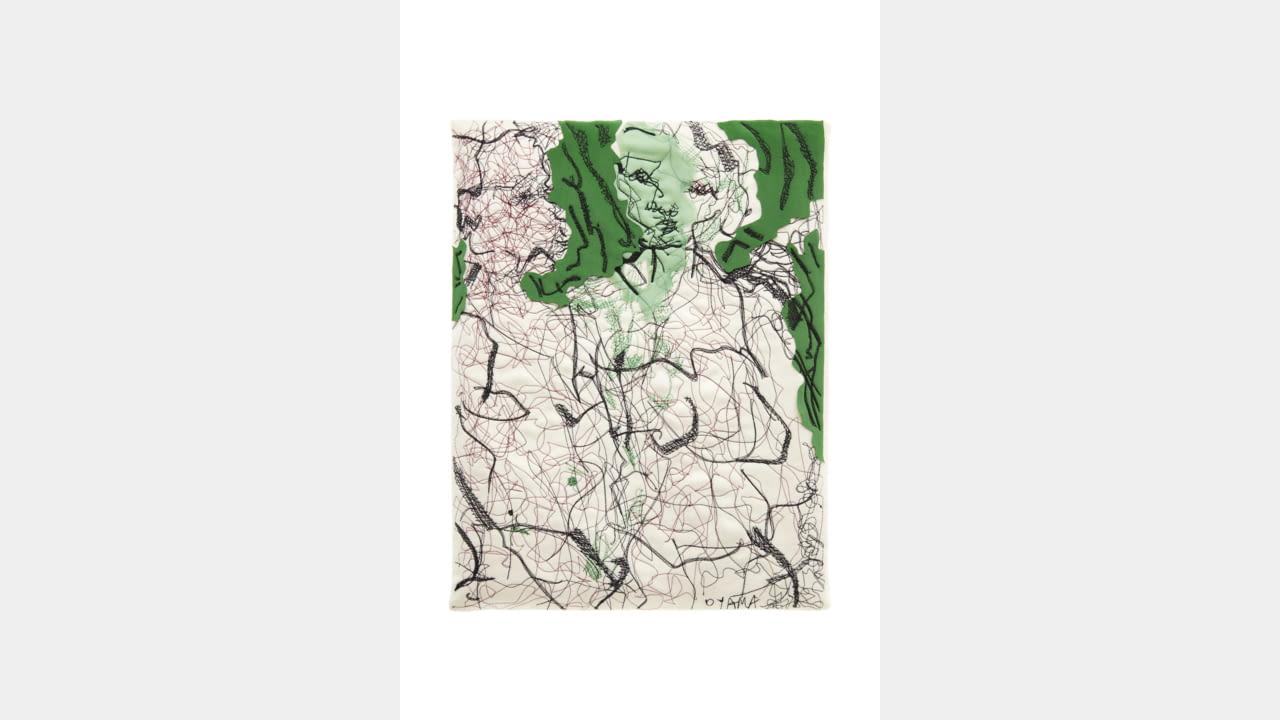 AGNONA AND GARAGE MAGAZINE for Creative Growth Art Centre illustration 1