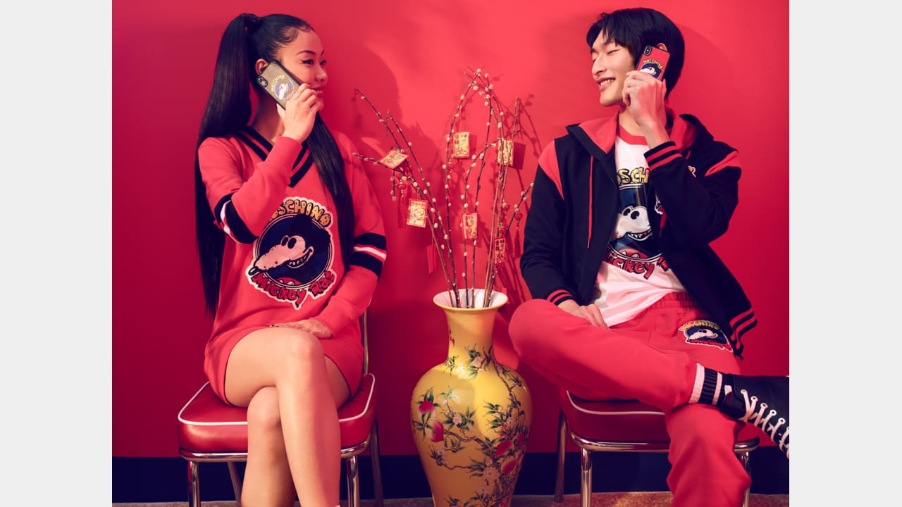MOSCHINO ANNOUNCES CHINESE NEW YEAR CAPSULE COLLECTION FEATURING MICKEY RA illustration 3