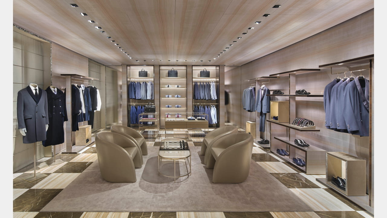 Giorgio Armani Boutique Returns to Via Sant'Andrea illustration 4