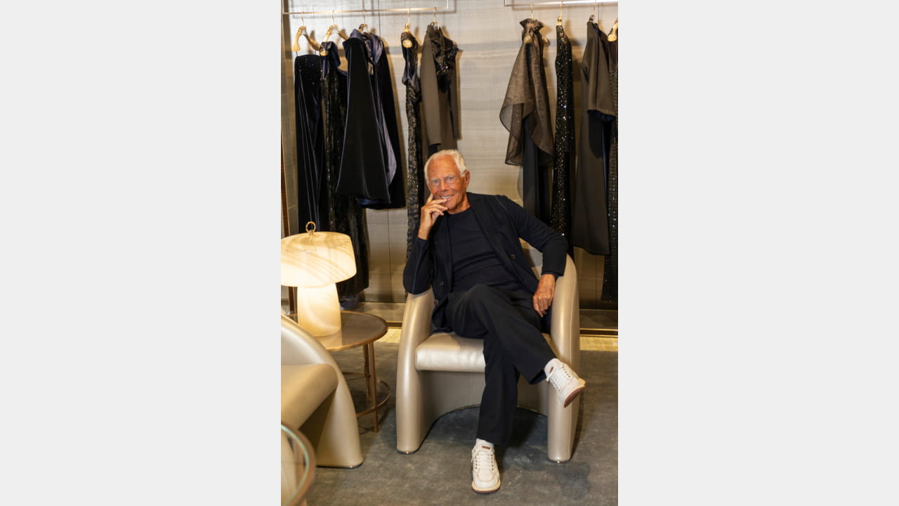 Giorgio Armani Boutique Returns to Via Sant'Andrea illustration 5