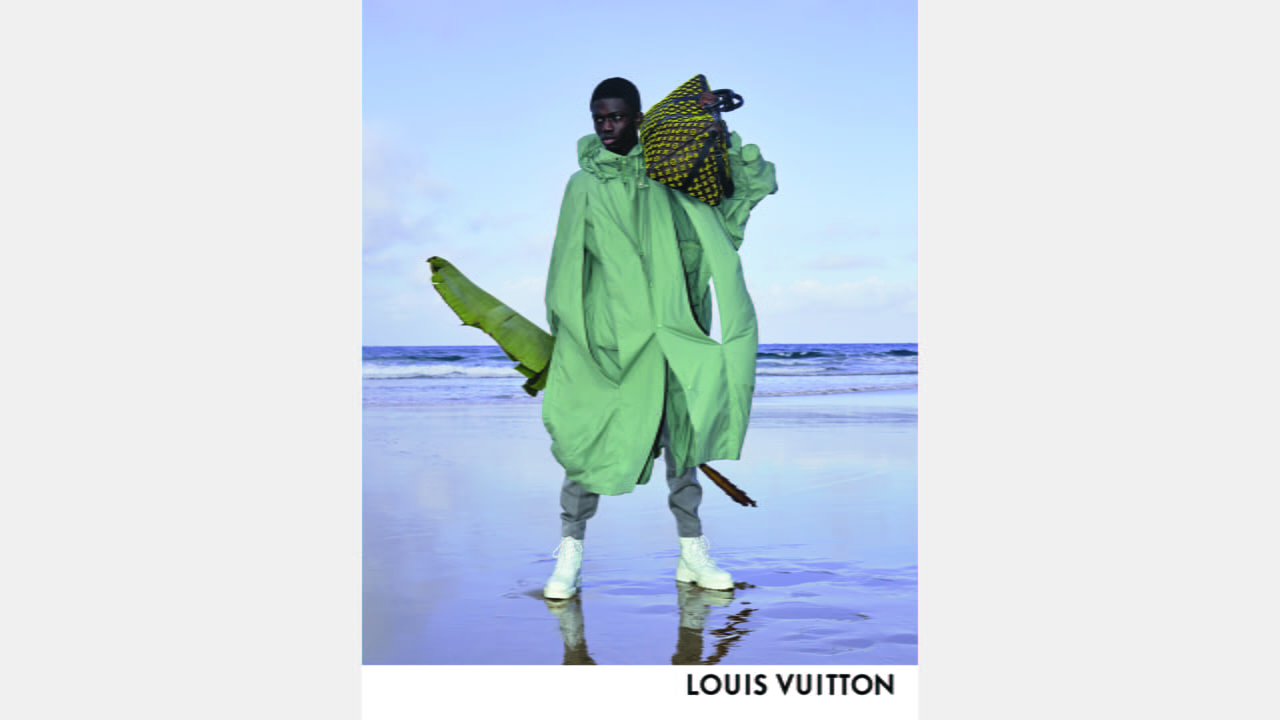 Louis Vuitton Men's Collection by Virgil Abloh Spring-Summer 2020 Campaign illustration 3