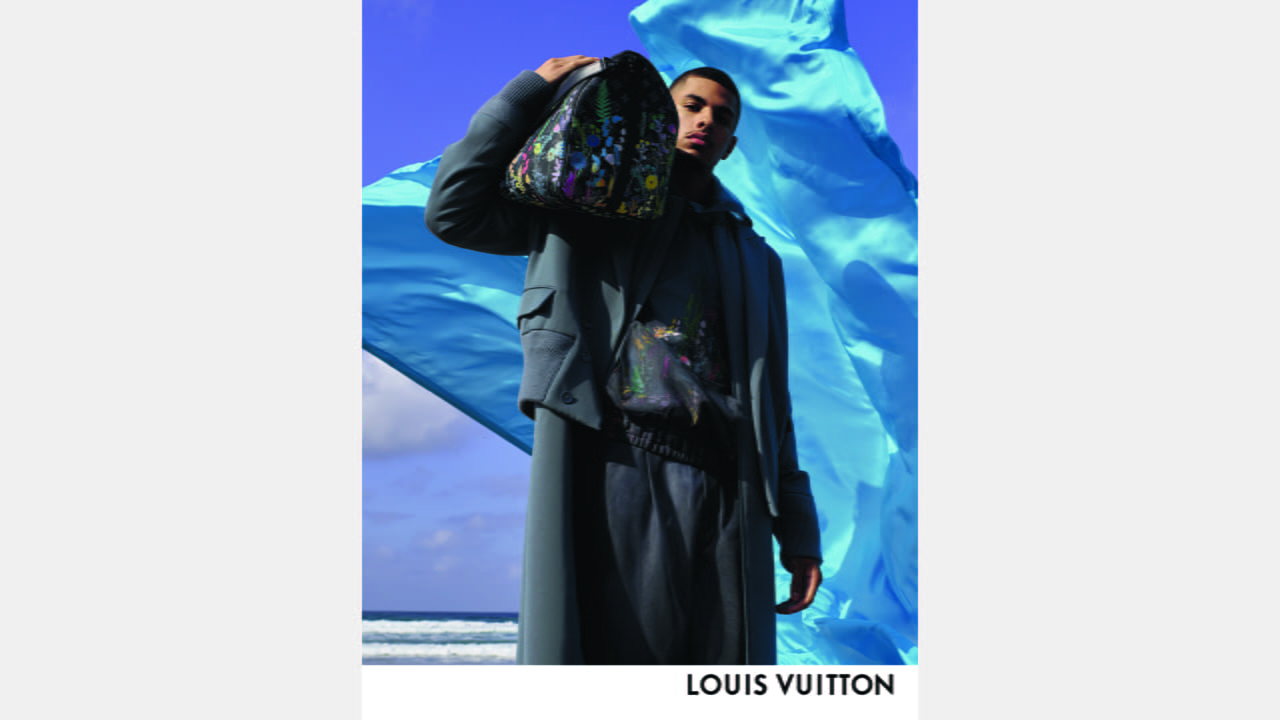 Louis Vuitton Men's Collection by Virgil Abloh Spring-Summer 2020 Campaign illustration 6
