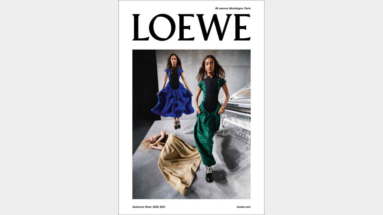 THE NEW LOEWE CAMPAIGN LOOKS YOU RIGHT IN THE EYES illustration 3