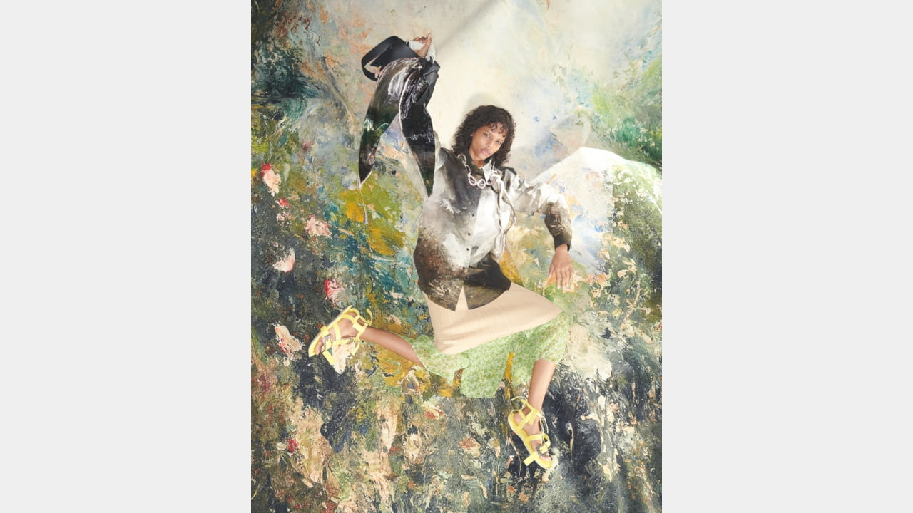 Acne Studios finds inspiration in August Strindberg paintings for the Women's SS20 collection illustration 7