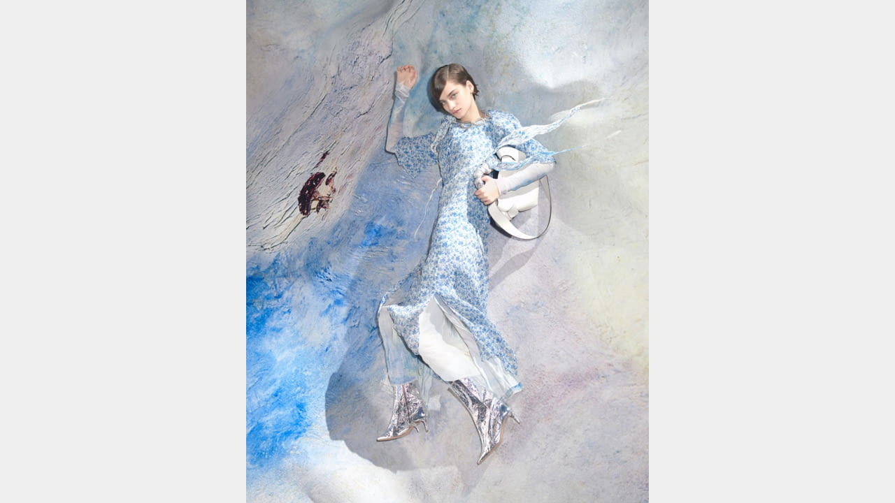 Acne Studios finds inspiration in August Strindberg paintings for the Women's SS20 collection illustration 13