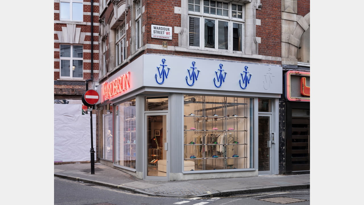 JW Anderson opens frst fagship store in London, Soho March 2020 illustration 1
