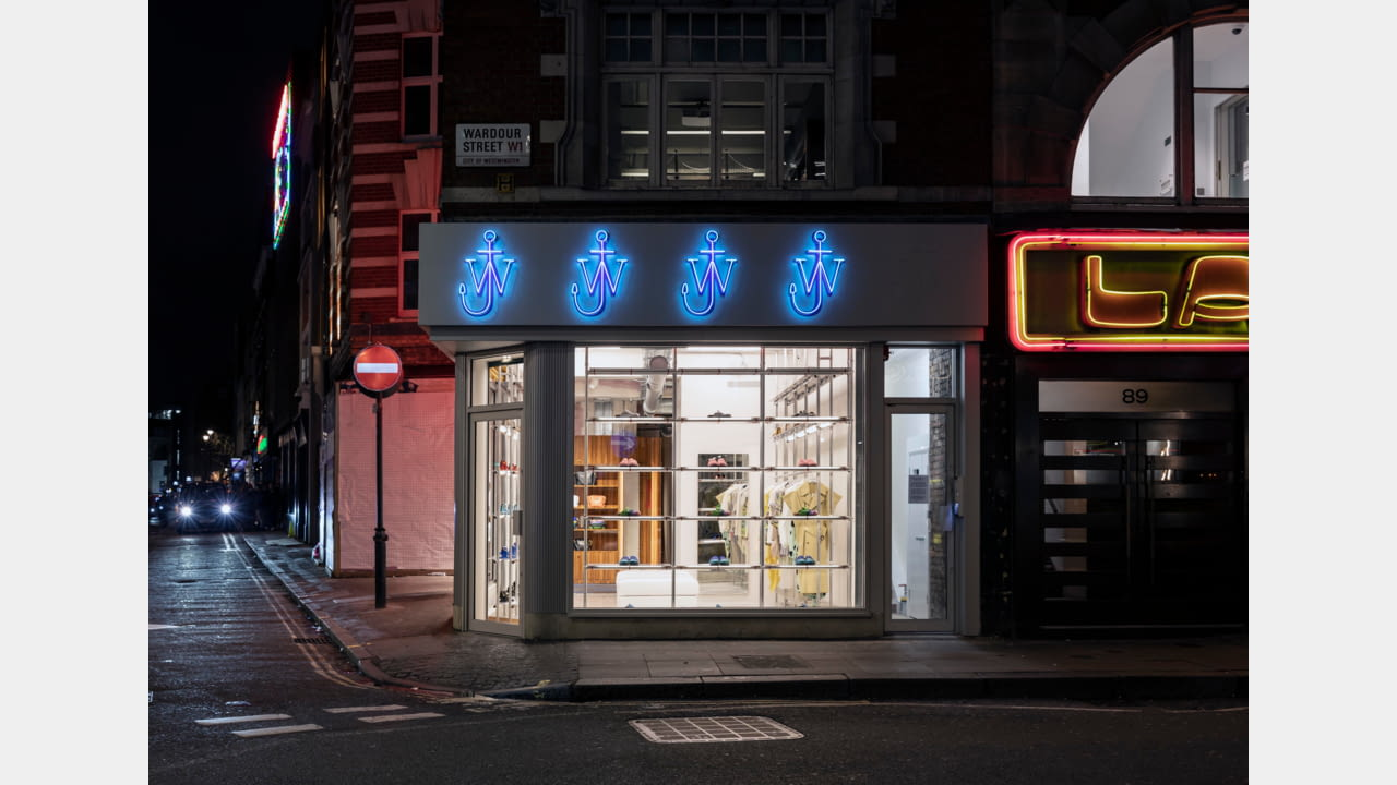 JW Anderson opens frst fagship store in London, Soho March 2020 illustration 2