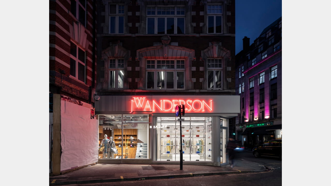JW Anderson opens frst fagship store in London, Soho March 2020 illustration 4