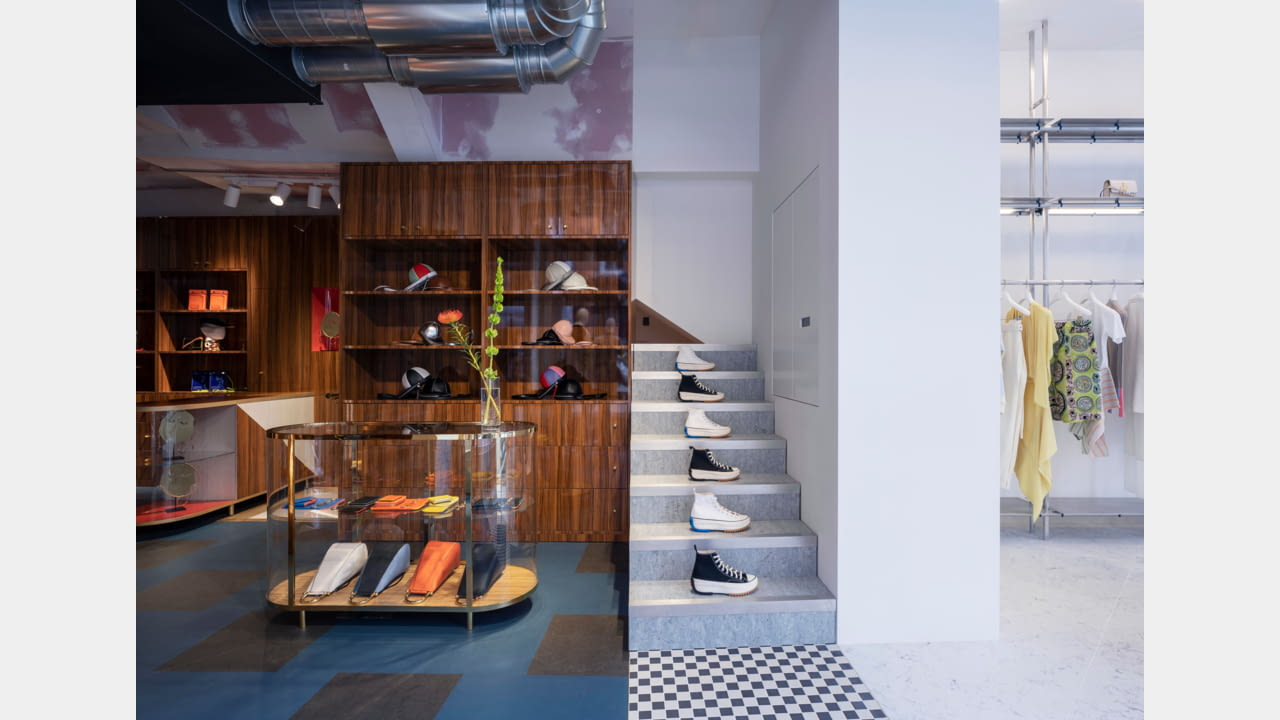 JW Anderson opens frst fagship store in London, Soho March 2020 illustration 6