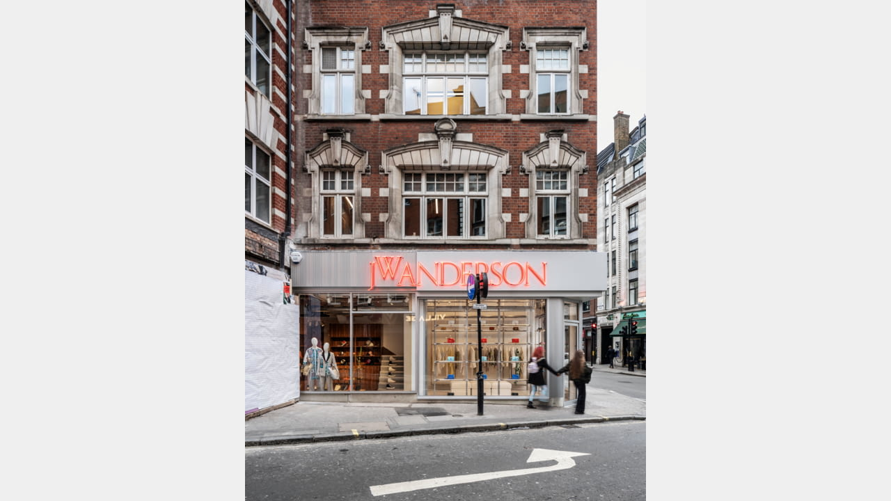 JW Anderson opens frst fagship store in London, Soho March 2020 illustration 11