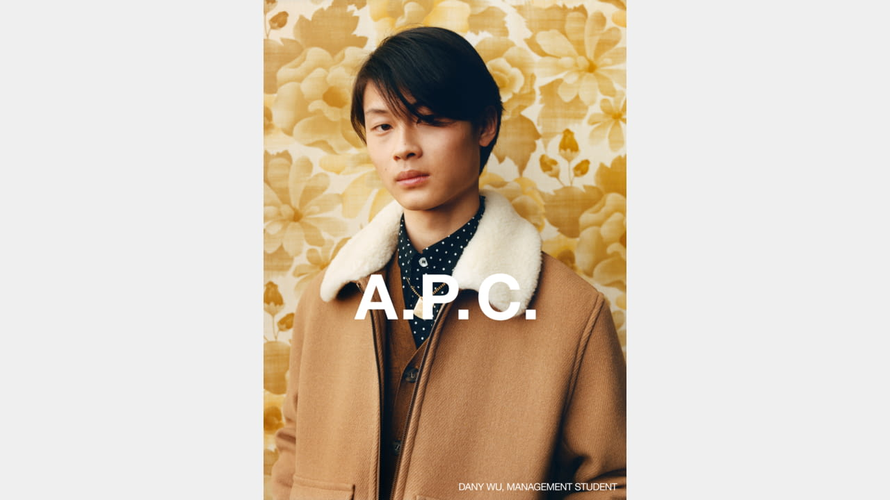 A.P.C. FALL/WINTER 2020 CAMPAIGN PHOTOGRAPHER: JULIE GRÈVE illustration 1