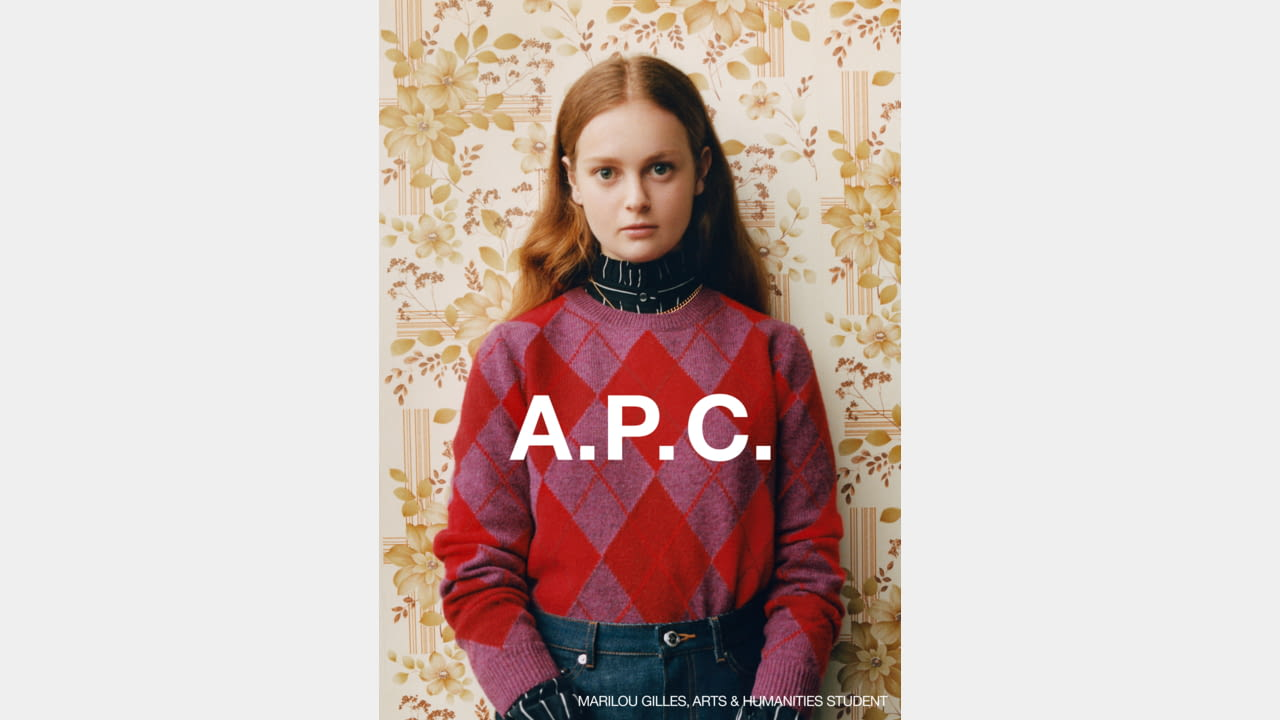 A.P.C. FALL/WINTER 2020 CAMPAIGN PHOTOGRAPHER: JULIE GRÈVE illustration 2