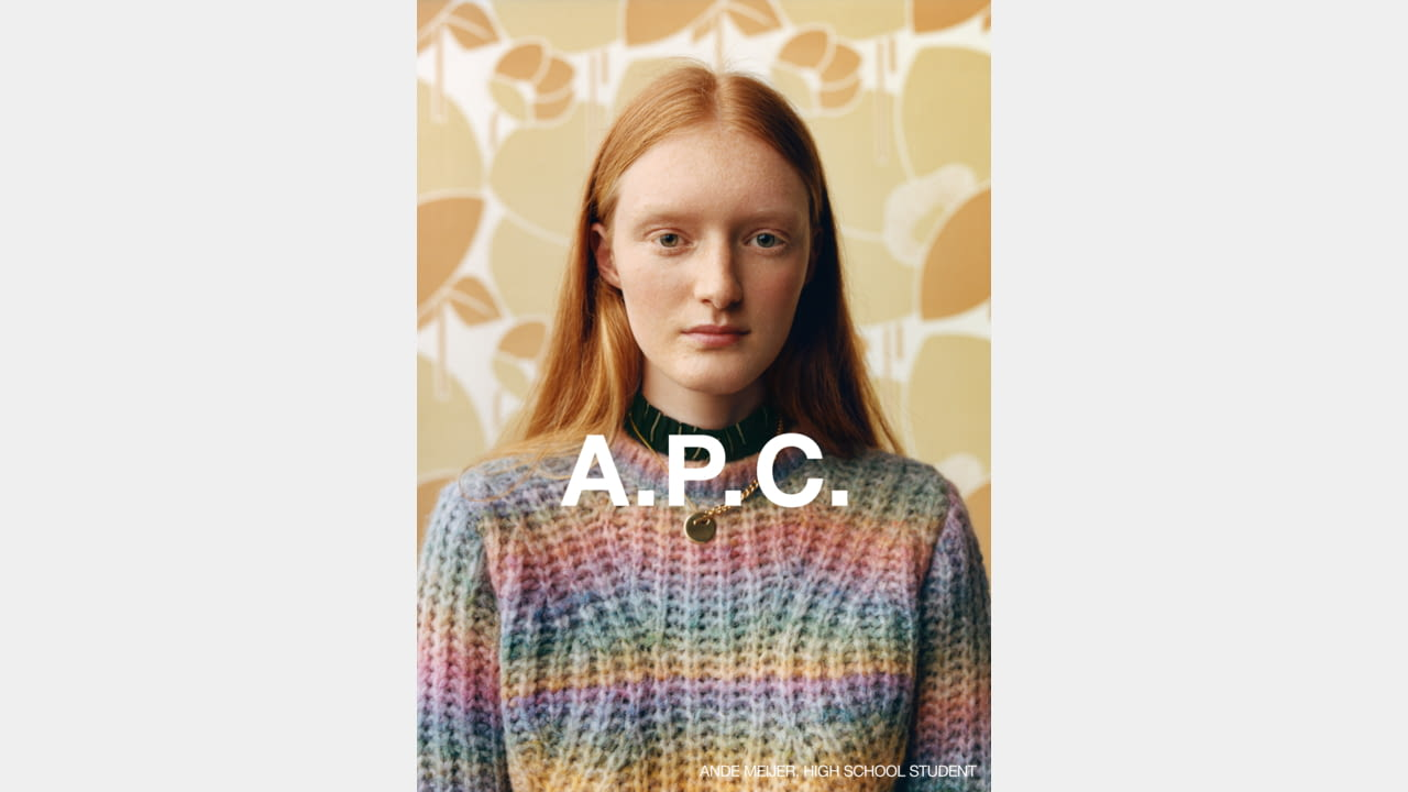 A.P.C. FALL/WINTER 2020 CAMPAIGN PHOTOGRAPHER: JULIE GRÈVE illustration 5