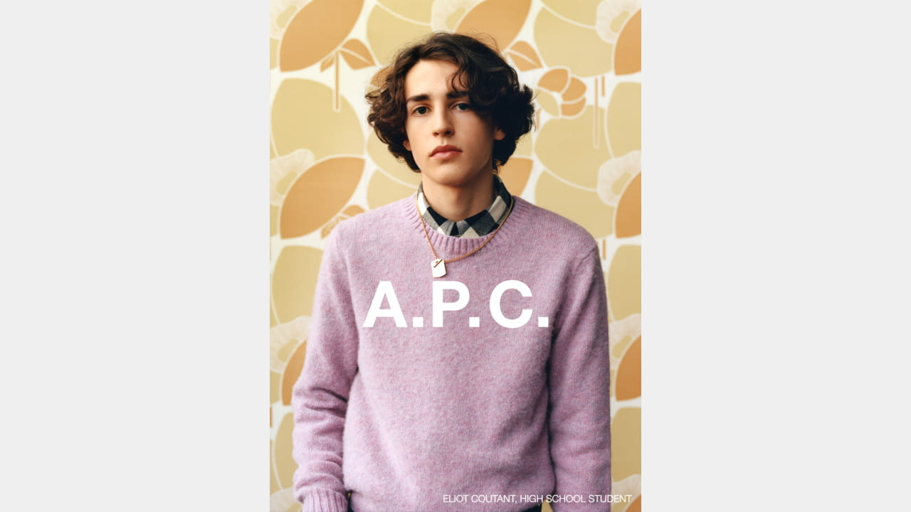 A.P.C. FALL/WINTER 2020 CAMPAIGN PHOTOGRAPHER: JULIE GRÈVE illustration 6