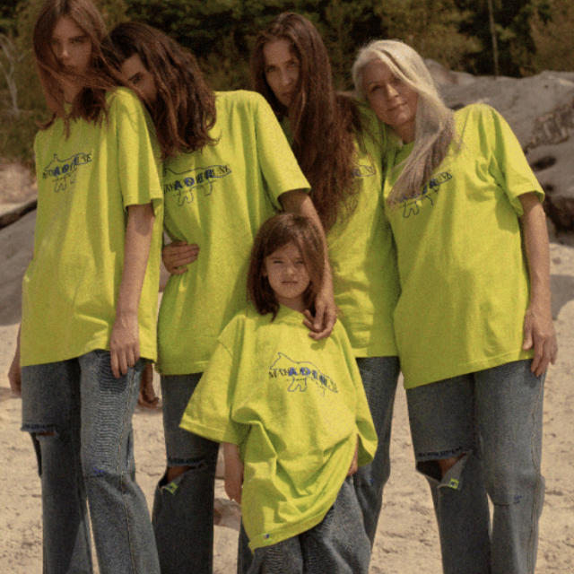 MAISON KITSUNÉ RECONNECTS WITH SOUTH KOREAN LABEL ADER FOR A SECOND CREATIVE COLLABORATION TITLED 'THE BLUE FOX FAMILY'.