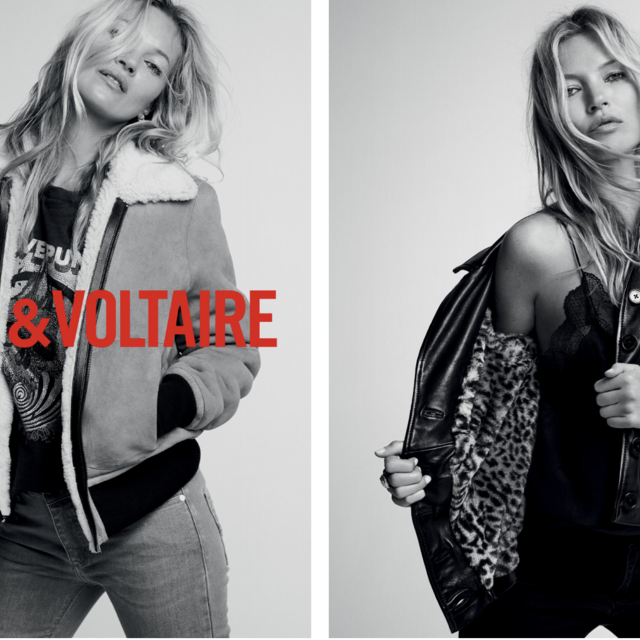 KATE MOSS THE NEW ZADIG&VOLTAIRE MUSE