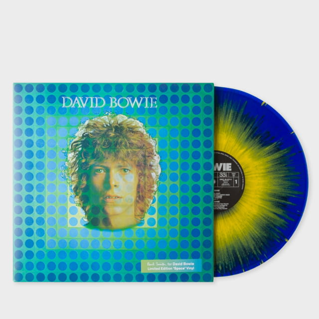 PAUL SMITH CREATES 50TH ANNIVERSARY EDITION OF DAVID BOWIE'S 'SPACE ODDITY' ALBUM LIMITED TO 3000 COPIES WORLDWIDE