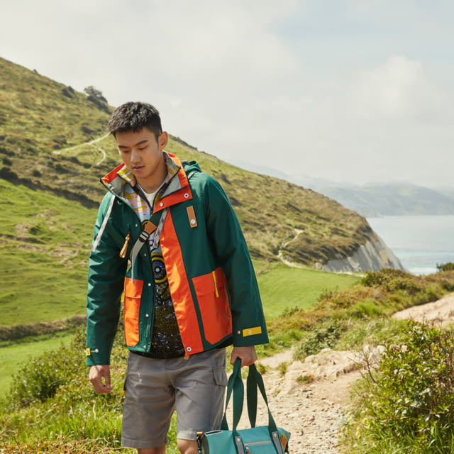 LOEWE'S SECOND EYE/LOEWE/NATURE COLLECTION CASTS ACTOR RUSSELL TOVEY AND OLYMPIAN NING ZETAO OUT AT SEA.